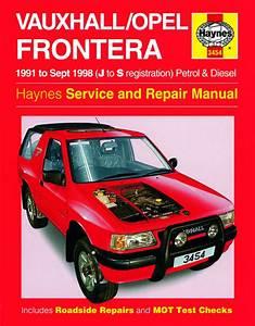 Haynes Manual Vauxhall  Opel Frontera Petrol  U0026 Diesel 1991