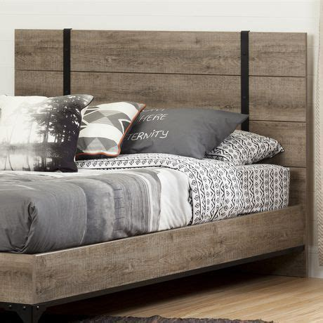 south shore valet weathered oak   full  queen