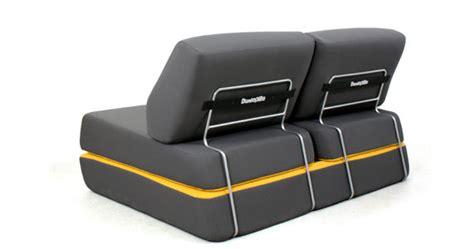 canape dunlopillo canapé convertible d 39 l 150 cm gris anthracite