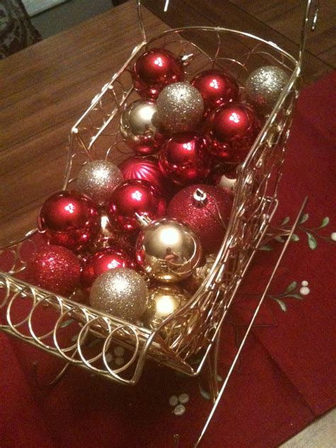 cheap christmas table decorations a cheap christmas centerpiece salted chocolate life