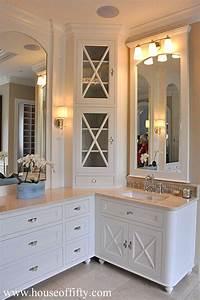 corner cabinet bathroom Best 25+ Mirror trim ideas on Pinterest | Bathroom mirrors, Framed bathroom mirrors and ...
