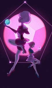 Pink Diamond and Pearl by QuasariusCyborg   Pink diamond ...