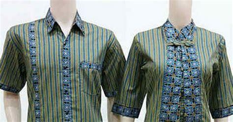 gambar model baju lurik terbaru