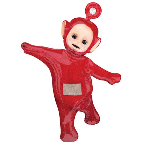 teletubbies balloons birthday party decorations po red super shape balloon 692618423113 ebay