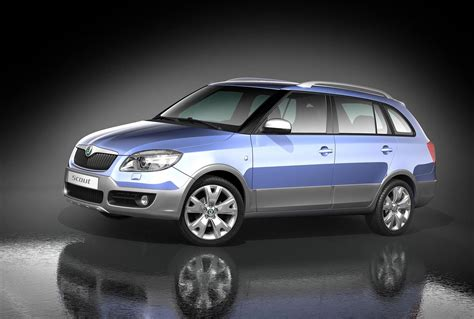 2008 Skoda Fabia Scout Pictures News Research Pricing