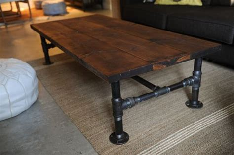 trendy diy industrial coffee tables shelterness