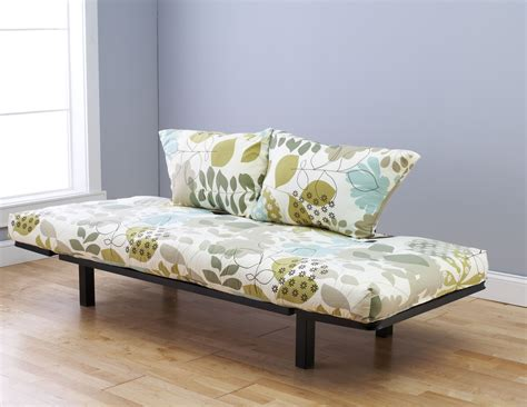 large futon spacely futon daybed lounger with mattress garden