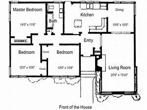 best 3 bedroom house plans 3 bedroom house plans free With plan for a three bedroom house