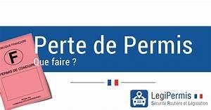 Déclaration De Perte Du Permis De Conduire : perte du permis de conduire comment faire legipermis ~ Medecine-chirurgie-esthetiques.com Avis de Voitures