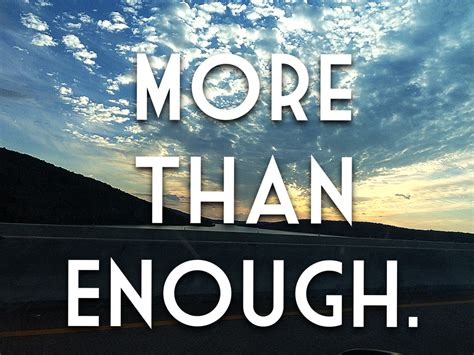 More Than Enough | Dearly Beloved