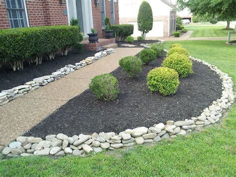 rock landscape photos landscaping rock residential archives franklin stone landscaping rocks mulch stones