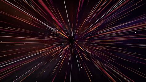 space travel  speed  light animation relaxing