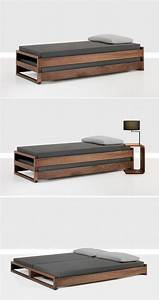 Minimalist Single To Double Bed Design