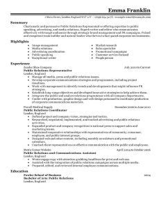 page resume examples template business