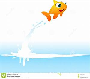 Fish Jumping Out Of Water Clipart - ClipartXtras