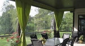 rideau pour terrasse exterieur 0 auvents residentiels With rideau pour terrasse exterieur