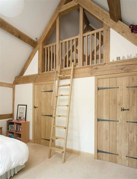 neat mezzanine idea  bedroom  extra storage decor