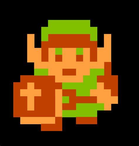Mario And Link 8 Bit Art Jordinky