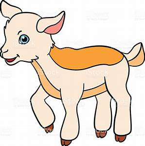 Farm Animals clipart goat kid - Pencil and in color farm ...