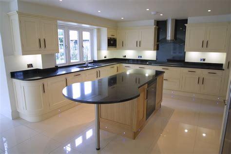 kitchen island marble granite worktops mastercraft kitchens