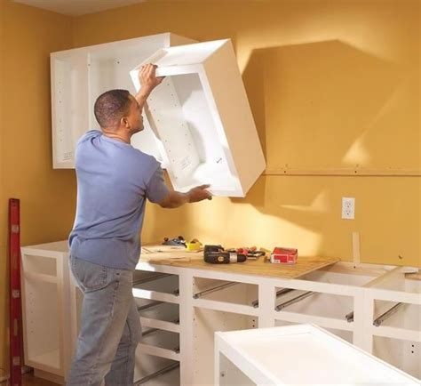 How To Install Hanging Cabinets For Kitchen?  Hanging