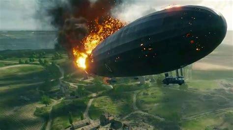 zeppelin crashes  battlefield  celebrity gameplay