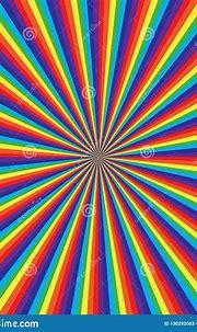 Rainbow Swirl Pattern, Abstract Vector Art Illustration ...