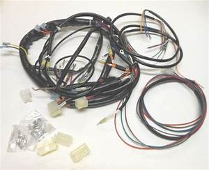 New 1991 Harley Xlh Sportster Complete Wiring Harness