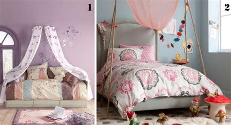 rideau pour chambre de fille des idées de ciels de lit pour lit d 39 enfant