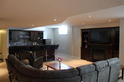 basement furniture furniture impressive basement room decorating ideas with dark brown varnished wine cabinet and