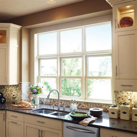 Woodultrex Double Hung Windows In Kitchen  Marvin Photo