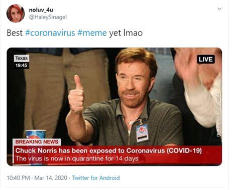 Coronavirus memes explain how social media users are ...