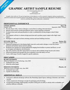graphic artist resume resumecompanioncom resume With artist resume sample