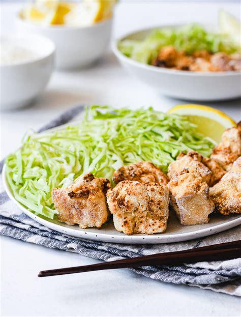 karaage air fryer vegan cooking ingredients