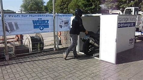 motorradgarage selber bauen motorradgarage vario teil 1