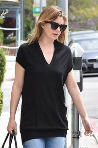 ELLEN POMPEO Out and About in Beverly Hills 04/27/2017 ...