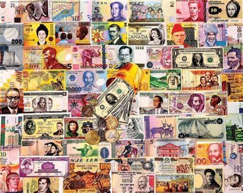 white mountain puzzles  world  money  piece jigsaw