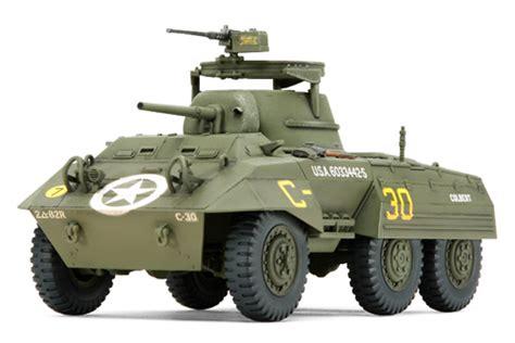 "1/48 U.s. M8 Light Armored Car ""greyhound"" (finished Model"
