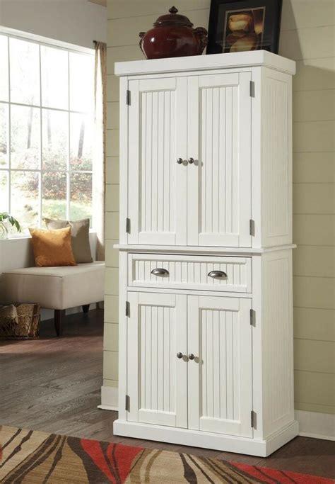kitchen cabinet tall organizer pantry storage doors shelf wooden drawers elegant ebay