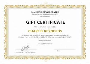 Free fancy gift certificate template in microsoft word for Fancy gift certificate template