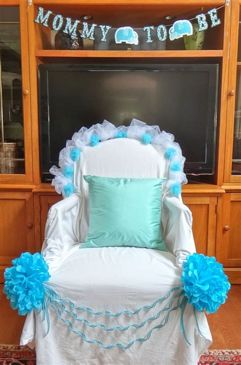 1000 ideas about baby shower chair on - Decorating Chair For Baby Shower