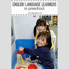 Prek  Preschool  Kindergarten  English Language Learners