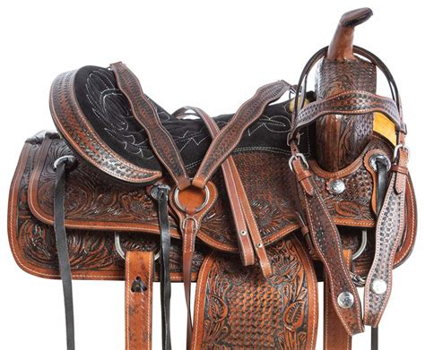horse saddles cowhide saddle leather natural guide