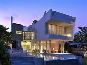 sentosa cove par new space architects singapour With maison en forme de u 7 magnifique extension bois avec piscine interieure