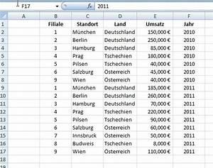 3  Excel Tabellen Und Diagramme