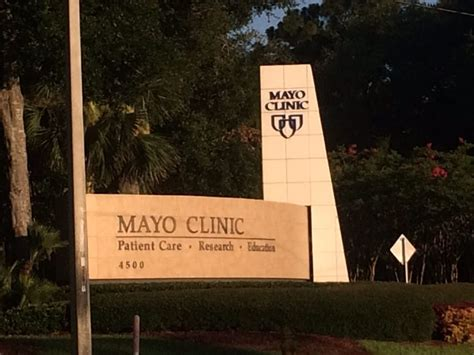 mayo clinic jacksonville phone number mayo clinic 18 photos 31 reviews centers