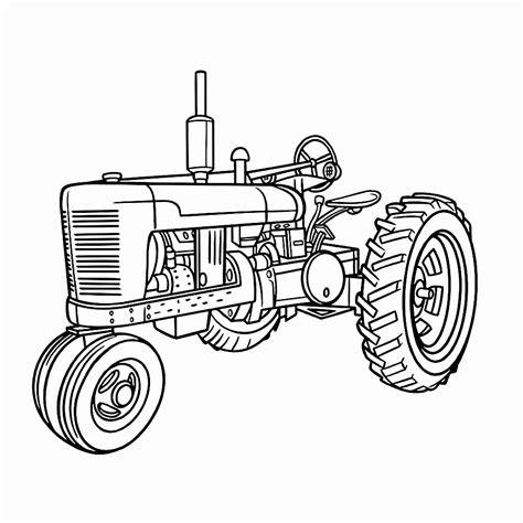 Afbeelding Tractor Kleurplaat by Kleurplaat Tractor Nieuw Tractor Kleurplaten Nieuw