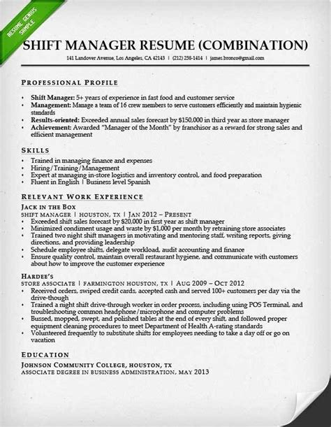 Exles Of Combination Resumes by 8 Exle Of Hybrid Resume Penn Working Papers