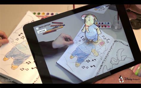 Disney Brengt Tekeningen Tot Leven Met Een Augmented