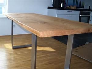 Tischplatte 140 X 80 : kufen esstisch talca mit gestell aus pulverbeschichtetem stahl ~ Bigdaddyawards.com Haus und Dekorationen